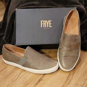 FRYE Leather Slip On - Like New!